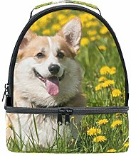 My Daily Kinder Isolierte Lunch Box Welsh Corgi