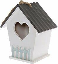 My Flair 161036 Vogelhaus Kiki mit Aufhängung und