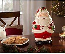 My Flair Gebäckdose 'Weihnachtsmann'