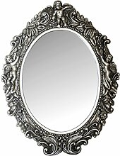 My Flair Ovaler Spiegel Mogallal, Barock mit