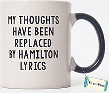 My Gedanken ersetzt wurden von Hamilton Text zwei