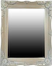 My Glam Home Spiegel, beige/weiß, 4X 39X