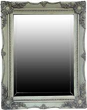 My Glam Home Spiegel, grün mit Reiben, 4x 39x