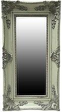 My Glam Home Spiegel, grün mit Reiben, 5x 34x 64cm