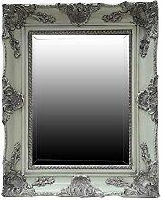 My Glam Home Spiegel, grün mit Reiben, 8x 45x