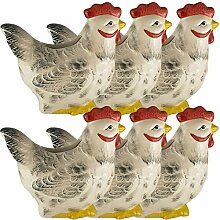 My-goodbuy24 Luftbefeuchter - Huhn - 6-teiliges