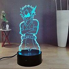 My Hero Academia 3D Anime Night Light, Bakugou