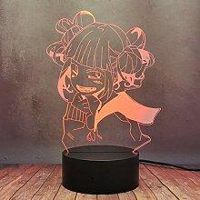 My Hero Academia Himiko Toga 3D-LED-Lampe, 16