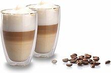 My Home 2er Set doppelwandige Latte Macchiato