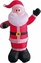 My Home Aufblasbarer Weihnachtsman mit Gebläse