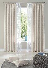 my home Gardine Cellino, Vorhang, Fertiggardine,