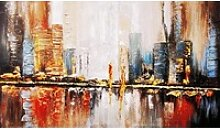 my home Gemälde Reflektion