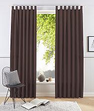 my home Vorhang Raja, blickdicht 145 cm,