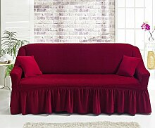 My Palace 3 Sitzer Bezug in Rot Weinrot/Modern-e