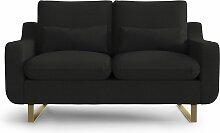 My Pop Design | 2-Sitzer-Sofa Monceau Schwarz