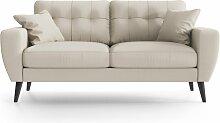 My Pop Design | Gallieni Noir 2-Sitzer-Sofa beige