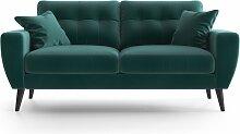My Pop Design | Gallieni Noir 2-Sitzer-Sofa blau