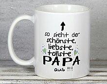 My Sweetheart® Geschenk Papa Tasse | Vatertagsgeschenk Geburtstagsgeschenk | schöne Geschenkidee für Väter
