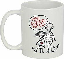 My Sweetheart® Vatertagsgeschenk | tolle PERSONALISIERBARE Vatertag Tasse | schöne Geschenkidee für Papa | Geschenke für Vater Tochter