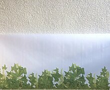 MY WAY Dekorfolie statische Fensterfolie Efeu