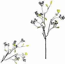 My Yard Künstliche Blumen, Kunststoff Fake Berry