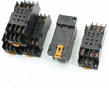 MY3NJ HH53P Power Relay Socket Basis DIN-Schienen 11Pin 5Stück