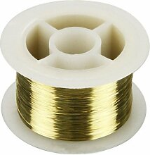 MYAMIA 50m 0.1mm Gold Draht Ausschnitt Linie LCD