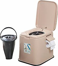 MyAou-commode Portable Camp Toilette Portable