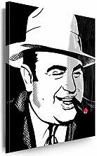 Myartstyle - Bilder Al Capone 100 x 70 cm