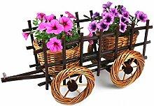 MyBer Blumenwagen Blumentopf Blumenkasten