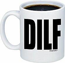 mycozycups Mann Geschenke–DILF Kaffee