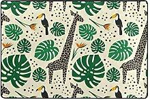 MyDaily Giraffe Toukanischer Teppich mit