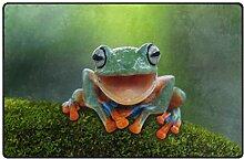 MyDaily Lachender Baum Frosch lustiger Teppich