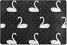 MyDaily Swan Teppich mit Punktemuster, 1,2 x 1,8