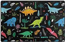 MyDaily Teppich mit Dinosaurier-Motiv und