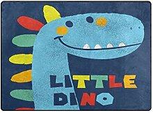 MyDaily Teppich mit niedlichem Dinosaurier-Motiv,