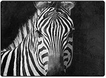 MyDaily Zebra Teppich, 122 x 152 cm, für
