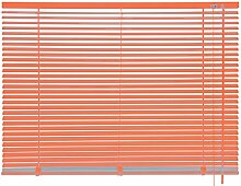 mydeco® 160 x 175 cm Aluminium Jalousie Orange;
