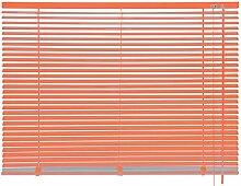 mydeco® 80 x 175 cm Aluminium Jalousie Orange;