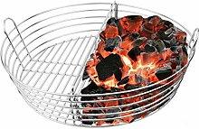 Mydracas Lump Holzkohle-Feuerkorb mit Trennwand