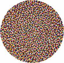 myfelt - Lotte Teppich Rund, 140 cm