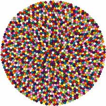 myfelt - Lotte Teppich Rund, 90 cm