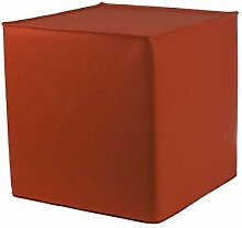 myFilz - Sitzwürfel 30 x 30 x 30 cm aus 3 mm Wollfilz orange