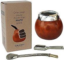 MyGauchoMarket Mate Gourd Becher Set inkl.