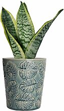 MyGift Blumentopf für Sukkulenten, aus Keramik,