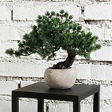 MyGift Künstlicher Bonsai-Baum für den
