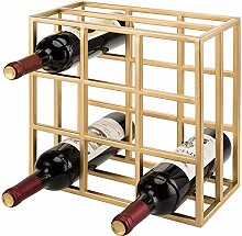 MyGift Weinflaschenregal mit 9 Fächern, modernes