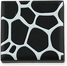 MyGrips GM99 Kindermöbel Knopf Muster Giraffe Türknopf/Knauf, schwarz 1