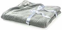 myHomery Wohndecke Melange Coralfleece-Decke warm