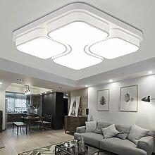 MYHOO 64W LED Deckenleuchte Deckenlampe Kaltweiß